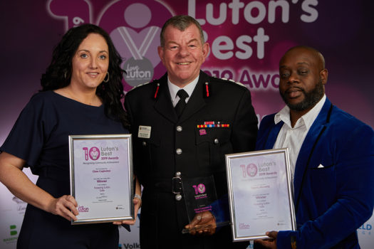 Keeping Luton Safe sponsored by Bedfordshire Fire & Rescue